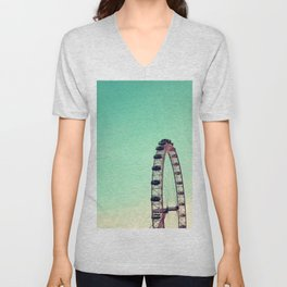 London Eye Unisex V-Neck