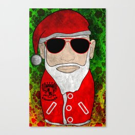 Santa Matryoshka / Nesting Doll  Матрешка Дед Мороз Canvas Print