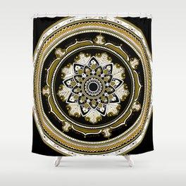 Goldie Mandala Shower Curtain