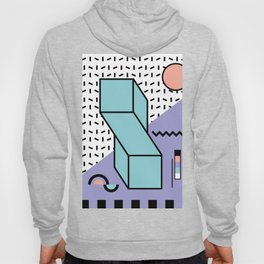 Memphis Pattern - 80s Retro - Pastel Colors Hoody