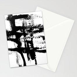 Brush Stroke Art Stationery Cards