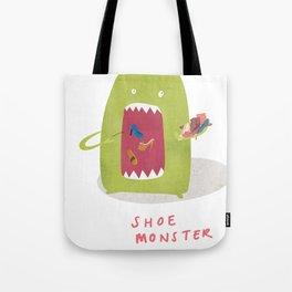 Shoe Monster Tote Bag