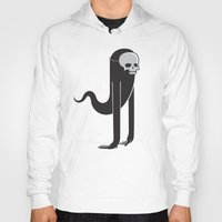 ghost Hoodies featuring Ghost by parallelish