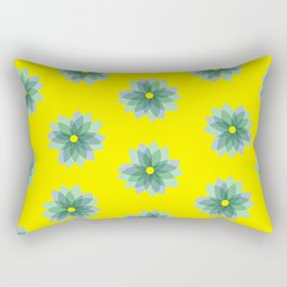 Geo Spring Flowers 02 Rectangular Pillow
