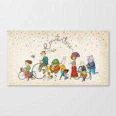 ¡Hola amigos! Canvas Print