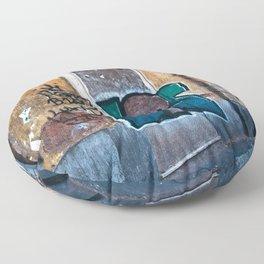 SICILIAN FACADE in CATANIA Floor Pillow