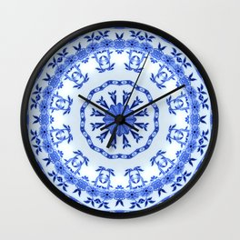 That Delft Effect Wall Clock