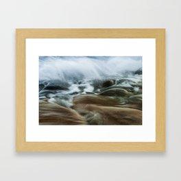 Cala de Benissa II Framed Art Print