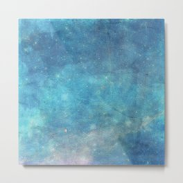 Spellcast Sky Turquoise Metal Print