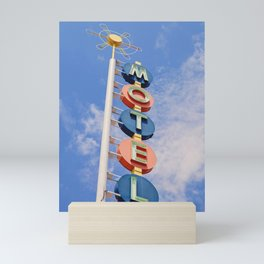 Vintage Motel Mini Art Print