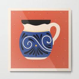 Mexican Mug Three Metal Print