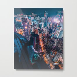 Nightscape Dreams Metal Print