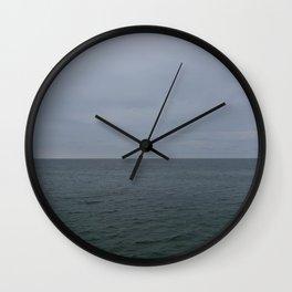 grey lake Wall Clock