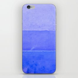 Blue City of Chefchaouen in Morocco iPhone Skin