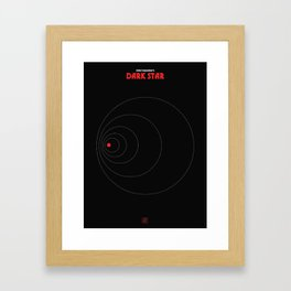 John Carpenter - Dark Star Framed Art Print