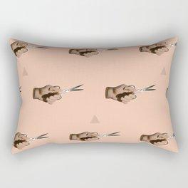 Pattern Cut Rectangular Pillow