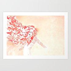 Spin Fire Art Print