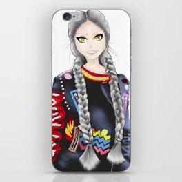 anime girl iPhone Skin