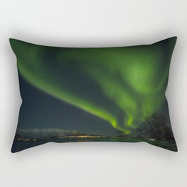 Aurora's Dance Rectangular Pillow