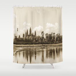 Angkor Wat, Cambodia Shower Curtain