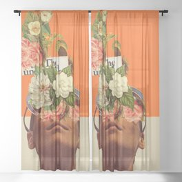 The Unexpected Sheer Curtain