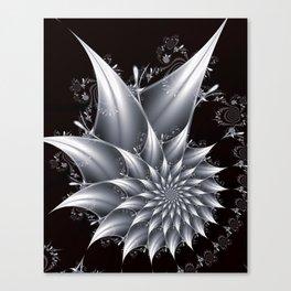 flowerpower in blackwhite Canvas Print