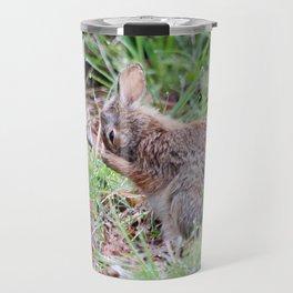 Bashful Rabbit Travel Mug