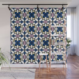 Moroccan Blue Wall Mural
