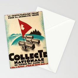 manifesto 1331 1931 jubile zwingli collecte Stationery Cards