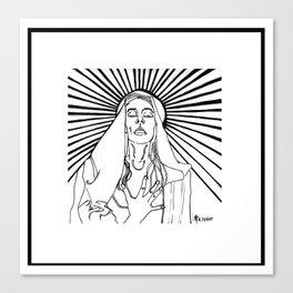 The Ecstasy of Madonna Canvas Print