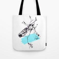 Bleu Boréal Tote Bag