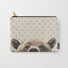 Bear and Stars Carry-All Pouch