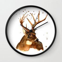 Beautiful Blitzen Wall Clock