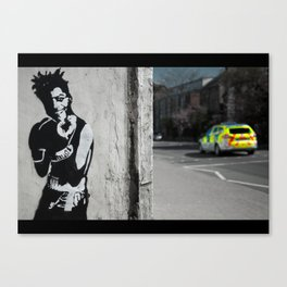 Box Clever Canvas Print