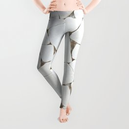 white stone home decor Leggings