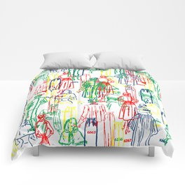 COLORFUL DRESSES Comforters