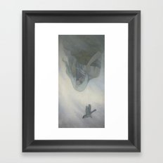 The East Wind Came Framed Art Print