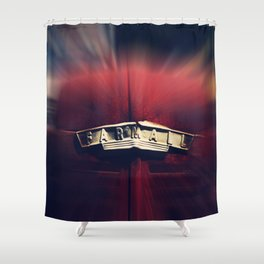 Farmall and Rust Shower Curtain