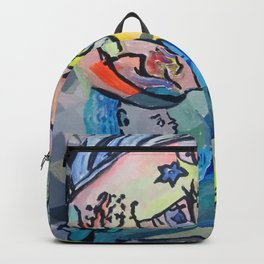 Connecting the unconnected. Backpack