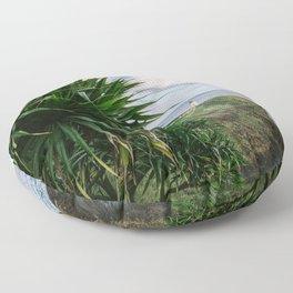 Kilauea Lighthouse Kauai Hawaii | Tropical Beach Nature Ocean Coastal Travel Photography Print Floor Pillow