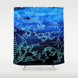 Fabrication of Atlantia Shower Curtain