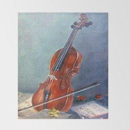Violín/Violin Throw Blanket