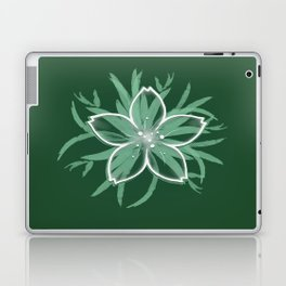 Happy flower Laptop & iPad Skin