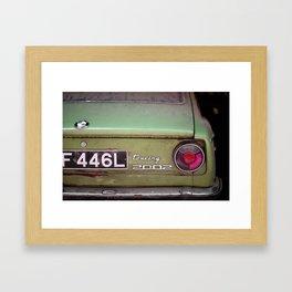 Car Touring 2002 Framed Art Print