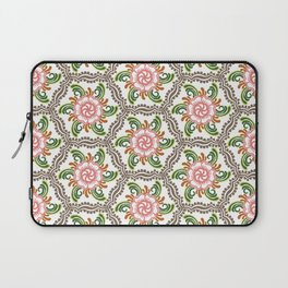 Oriental Flower Laptop Sleeve