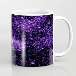 gaLaxy. Dark Purple Stars Coffee Mug