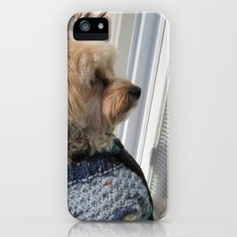 Copper looking for Daddy iPhone Case