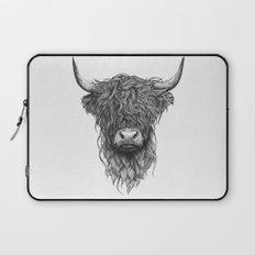Highland Cattle Laptop Sleeve