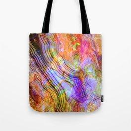 abstract crystal x Tote Bag