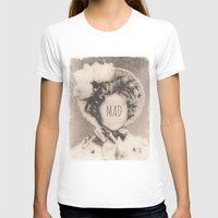 mad T-shirts featuring MAD by Oddworld Art